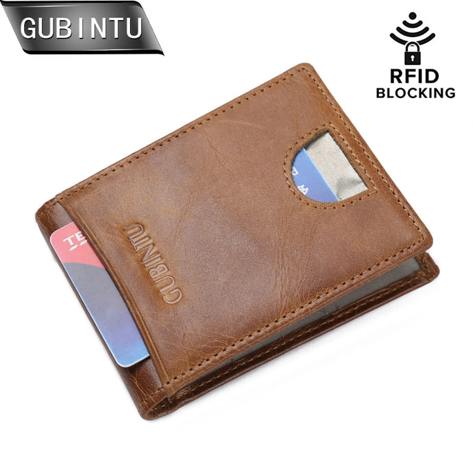 Slim Money Clip RFID Blocking - yubti.com