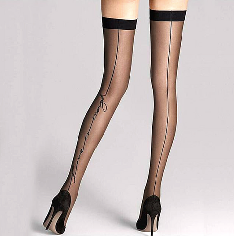 Love is Enough Thigh High Stockings