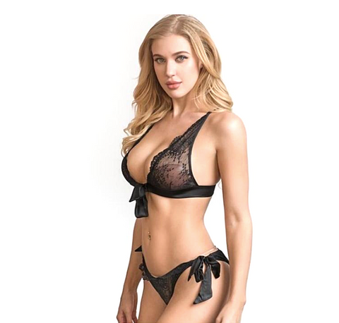 Fell For Love Bra and Brief Set