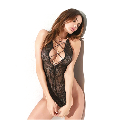 Sexy Tie Up Bodysuit