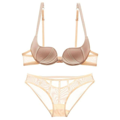 Take the Plunge Bra Set