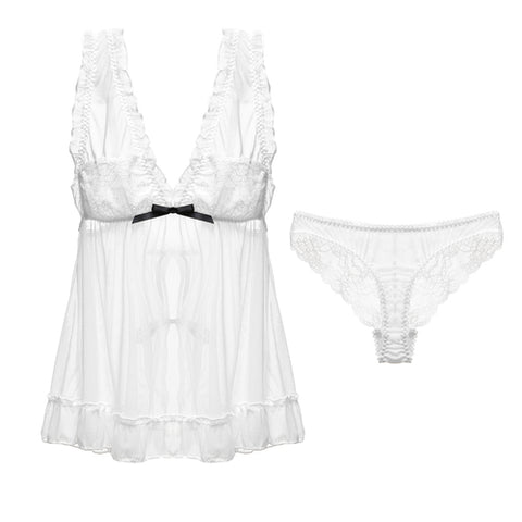 Sheer Passion Lace Nightwear Set