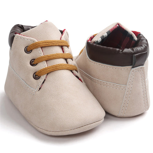 Baby Shoes Girls Toddler Infant Soft Sole Solid Shoes Boy Non Slip chaussures de bebe En primer lugar
