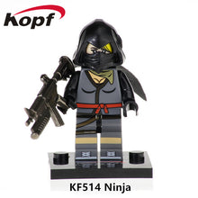Load image into Gallery viewer, Single Sale Super Heroes AIM Agent Team Members Series Dolls Model Bricks Christmas Building Blocks Toys for children KF540