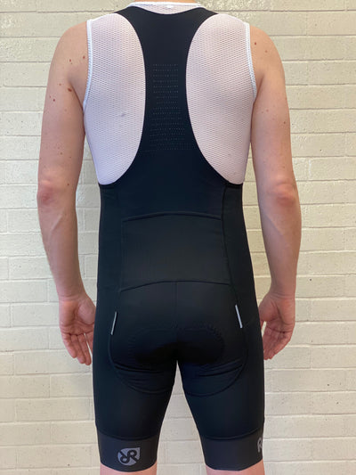 Skyline Bib Short // Black - Men