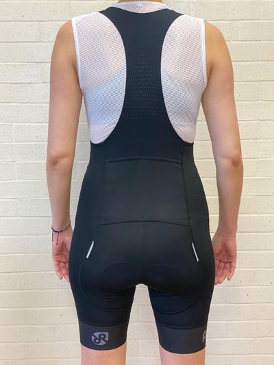 Skyline Bib Short // Black - Women