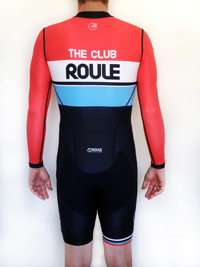 The Club Roule 2020 Long Sleeve Skinsuit (Autumn/Spring) - Men