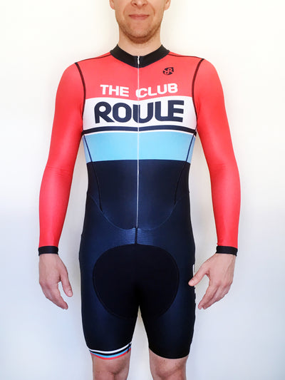 The Club Roule 2019 Long Sleeve Skinsuit (Autumn/Spring) - Men