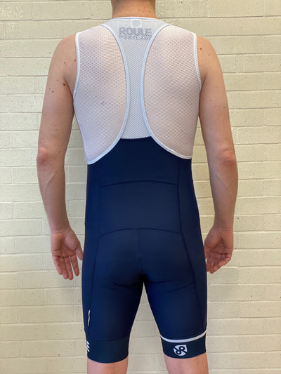 Tabor Bib Shorts // Navy - Men