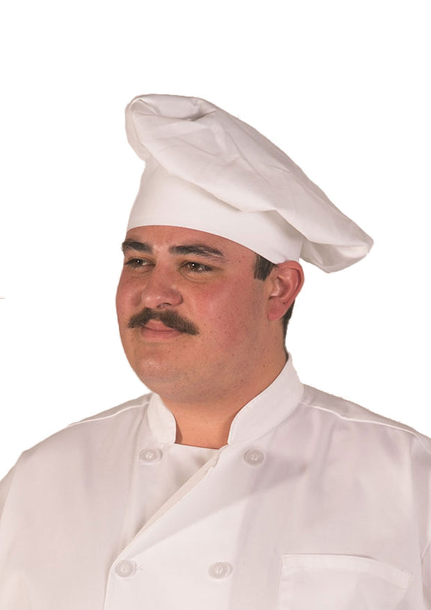 Adjustable Velcro Closure Classic Chef Hat, 1 Pack