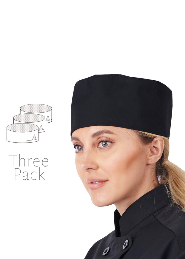 1 pack Beanie Mesh white Hat