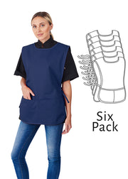 HiLite 6 Pack Cobbler Apron Two Pockets - Service Industries Unisex - 717