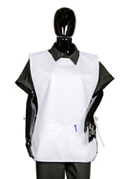 ITEM: 717, Cobbler Apron, Adjustable Side Ties, Two Divided Pockets, 6 Pack