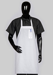 ITEM: 811, Fixed Neck Economy Bib Apron, Pencil Pocket, 3 Pack