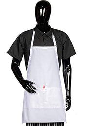 ITEM: 822P3A, Adjustable Neck Bib Apron, Three Center Pockets, 3 Pack