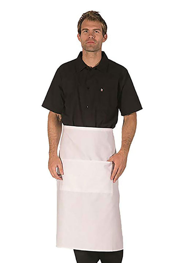 ITEM: 920, Bistro Apron, Two Center Pockets, 3 Pack