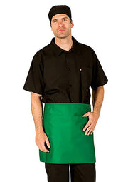 HiLite 6 Pack 1/2 Bistro Apron - Two Pockets - Waiter Waitress Chef  Unisex - 930