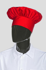 ITEM: 110, Adjustable Velcro Closure Classic Chef Hat, 6 Pack