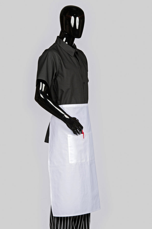 ITEM: 920, Bistro Apron, Two Center Pockets, 6 Pack