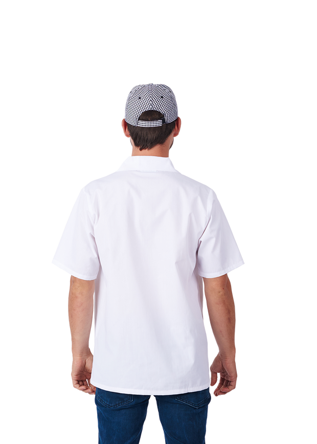 ITEM: 430WH, Utility Shirt, Short Sleeve - White, 3 Pack