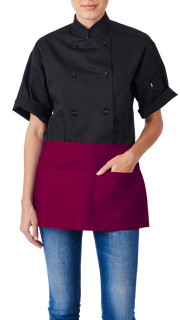 HiLite 3 Pack Waist Apron - Three Pocket Waiter Waitress Tool Pocket Apron Unisex - 970