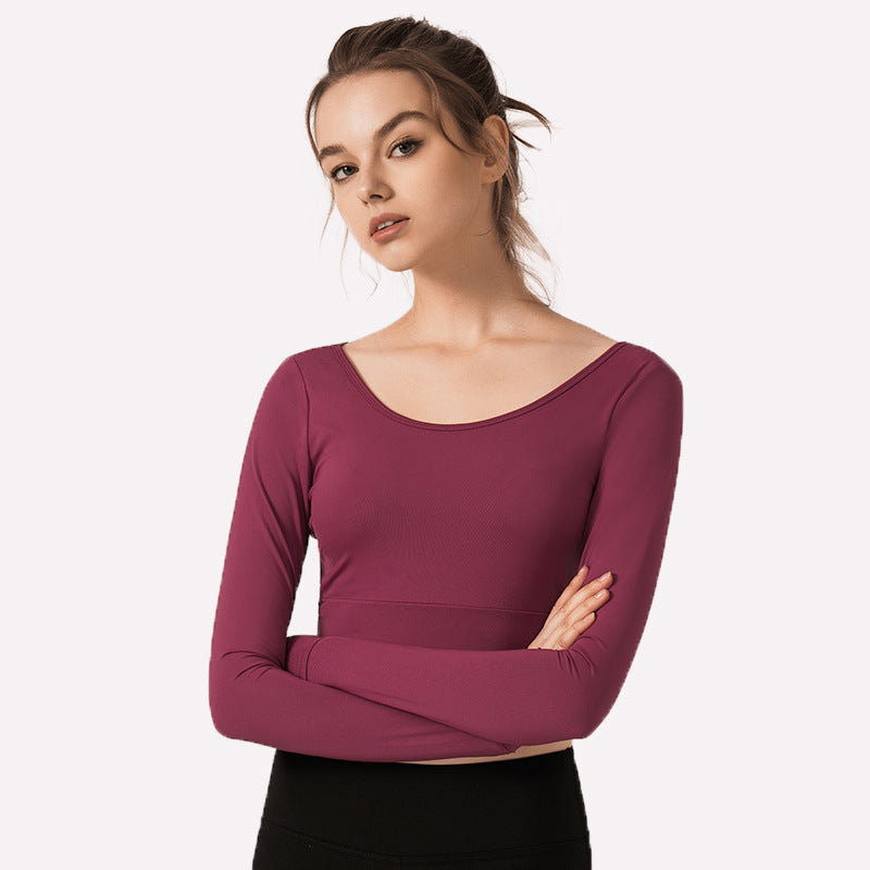 Demure Long Sleeve Top