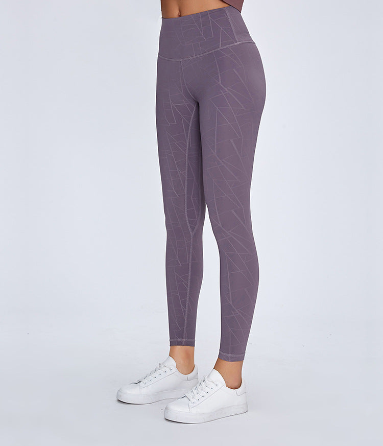 High-Waist Lightning Leggings