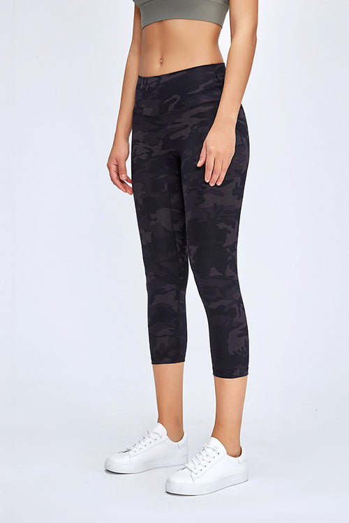 High-Waist 7/8 Camo Leggings