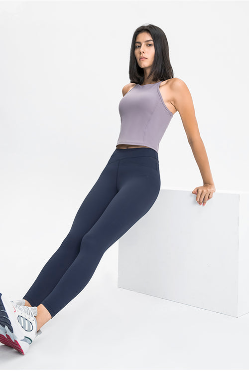 High-Waist Blossom Leggings