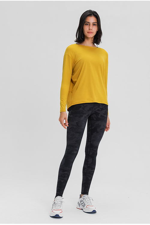 Gladness Long-Sleeve Top