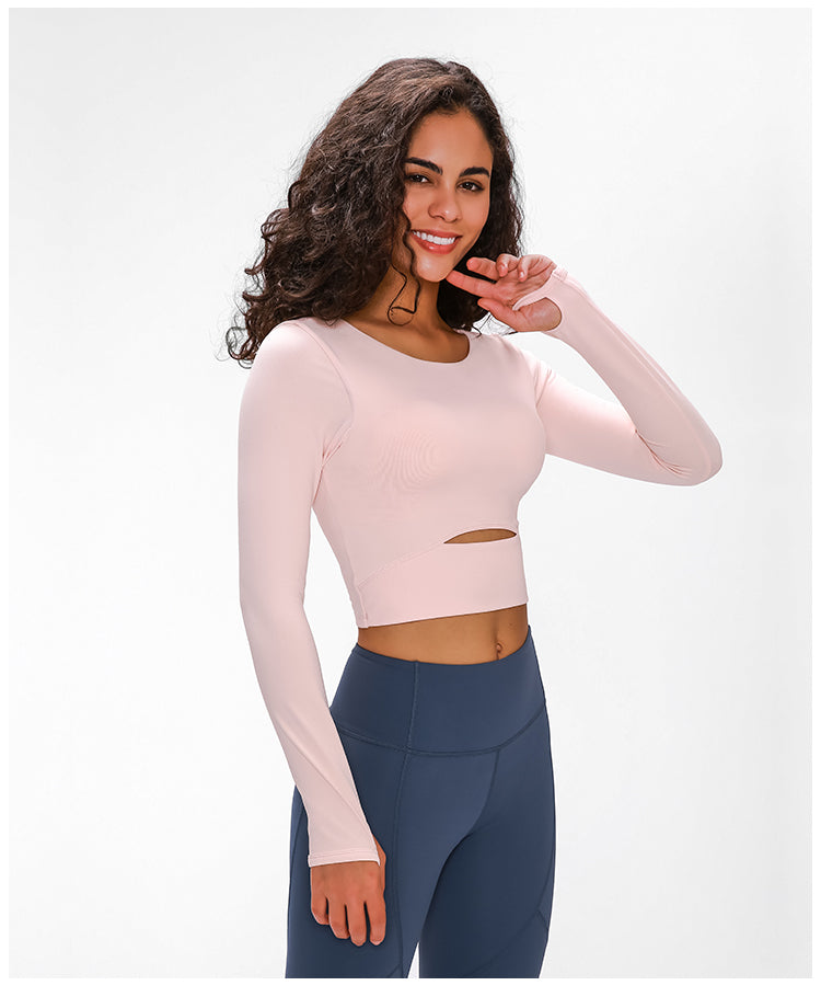 Aspire Long Sleeve Top