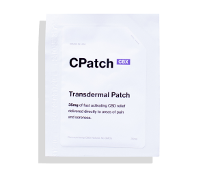 CPatch CBX 35mg - Pack of 3 - Topical Transdermal Patch