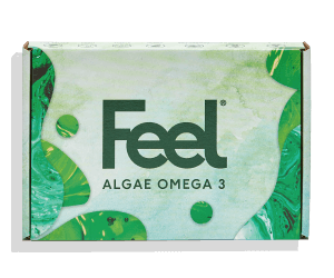 Feel Algae Omega 3 box