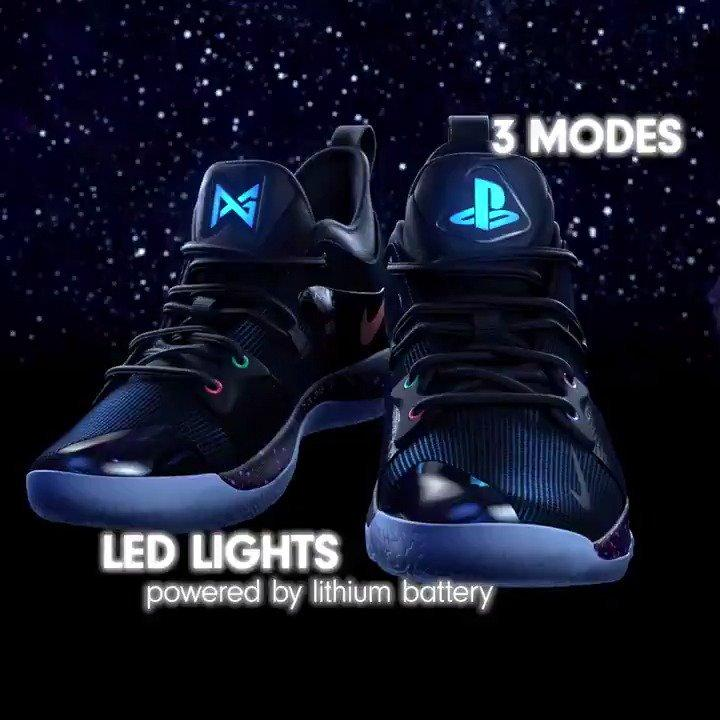 new style 38c05 23a73 NIKE PG 2 x Playstation w/ LED