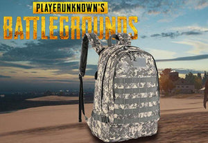 PUBG Level 3 Backpack with USB Port Audio Jack