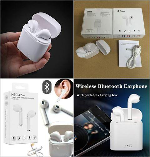 Bluetooth Earphone with Charging dock(Airpods)