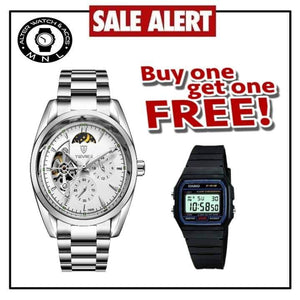 new product 4a8c2 2d903 Tevise Limited Edition Automatic Watch with FREE Casio Digital Watch ...