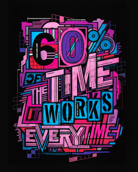 """Works Every Time"" Print"