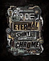 """Eternal Shiny and Chrome"" Print"