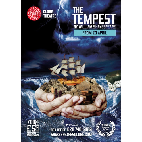 Tempest - Print on Demand A3 Poster