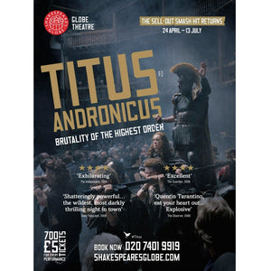 Titus Andronicus (2014) - Print to Order