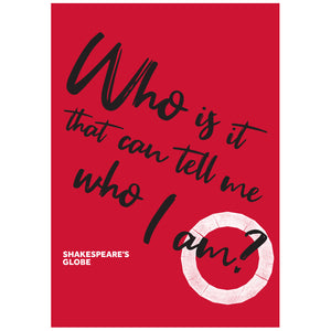 Shakespeare Quote Poster