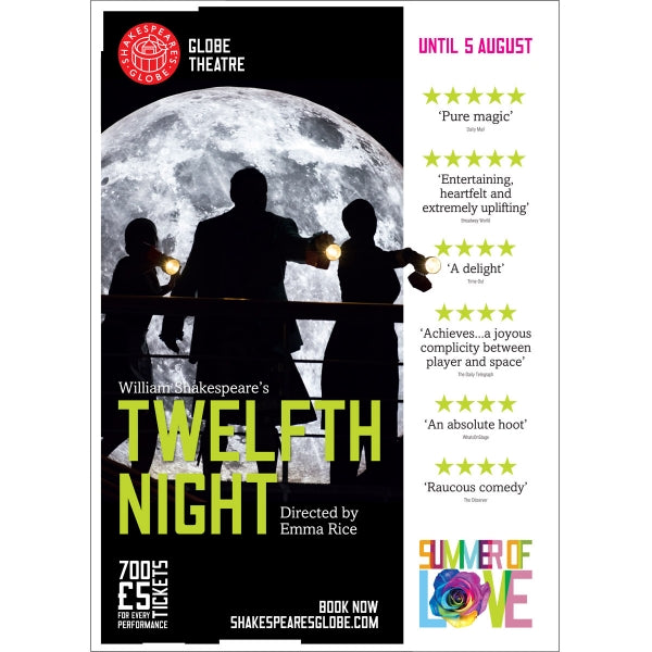 Twelfth Night - Print on Demand A3 Poster