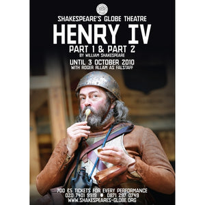 Henry IV, part 2 - Print on Demand A3 Poster
