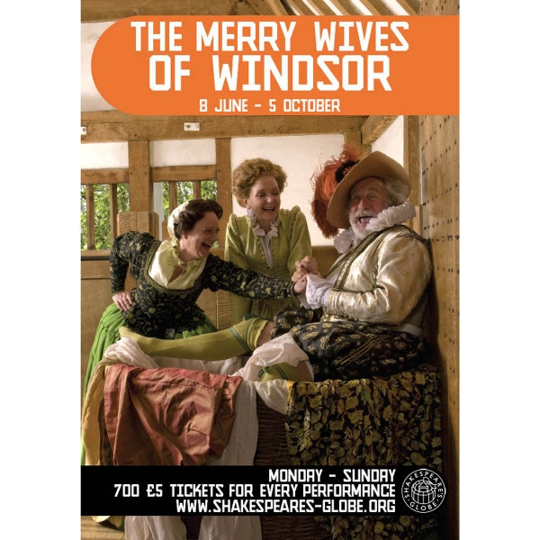 The Merry Wives of Windsor - Print on Demand A3 Poster