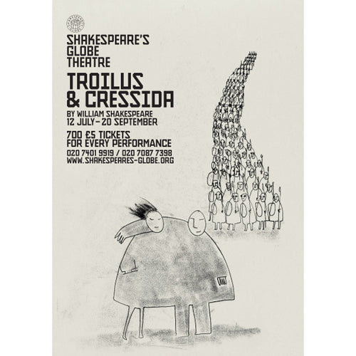 Troilus & Cressida - Print on Demand A3 Poster