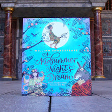 A Midsummer Nights Dream book, beautifully illustrated for younger readers
