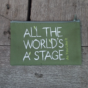 As You Like It 'All The World's a Stage' Purse