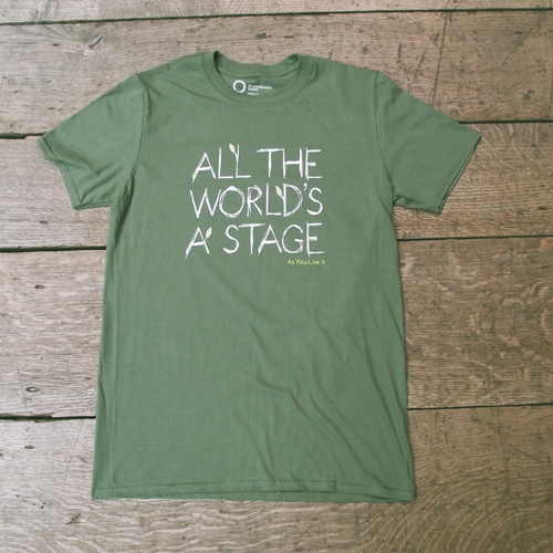 As You Like It 'All The World's a Stage' Unisex T-shirt