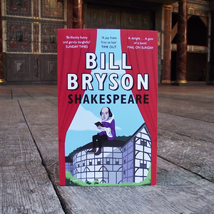 Paperback edition of Shakespeare by Bill Bryson
